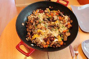 Wok King Imbiss mit leckeren asiatischen Essen in Emsdetten.